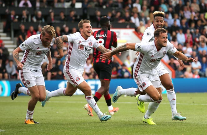 Sheffield United gained a point in their opening match of the 2019-20 Premier League season, thanks to fan-favourite Billy Sharp