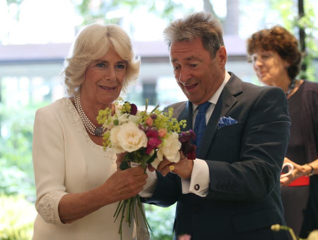 Duchess of Cornwall visits the Garden Museum