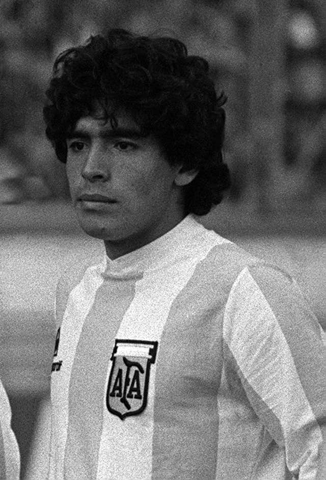 A precocious talent, Maradona made his Argentina debut at the age of 18 in 1977, but he did not feature in the 1978 World Cup win