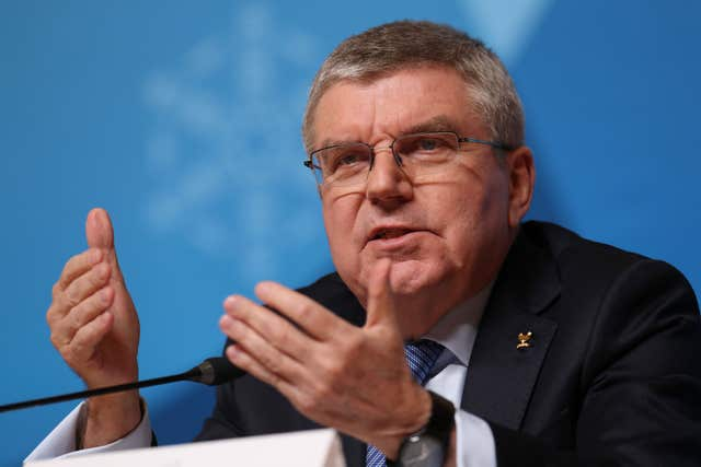 IOC president Thomas Bach says athletes will be asked for their thoughts.