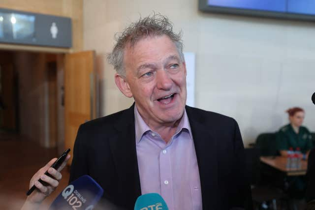 Election candidate Peter Casey