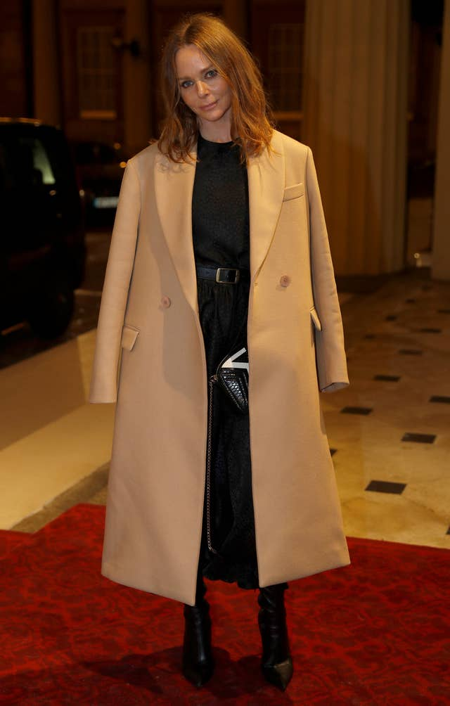 Fashion designer Stella McCartney (Peter Nicholls/PA)