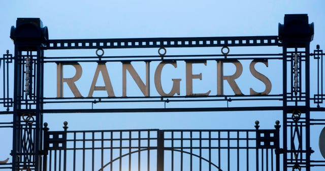 The case against Rangers has been dropped