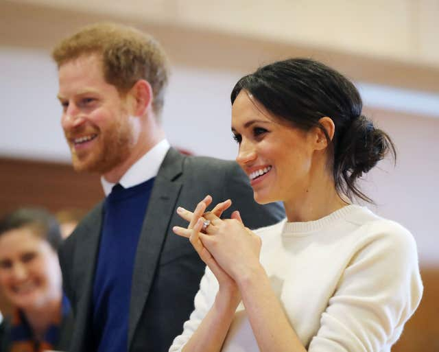 Prince Harry and Meghan Markle will wed on May 19 (Niall Carson/PA)