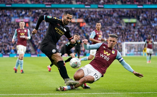 Jack Grealish challenges Ilkay Gundogan