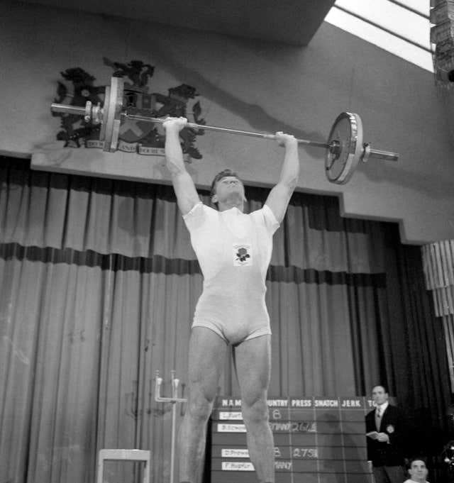 Weightlifting – England v West Germany – Municipal Hall, Tottenham, London