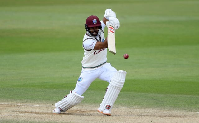 Shai Hope, pictured, got a vote of confidence from Holder (Mike Hewitt/NMC Pool/PA)