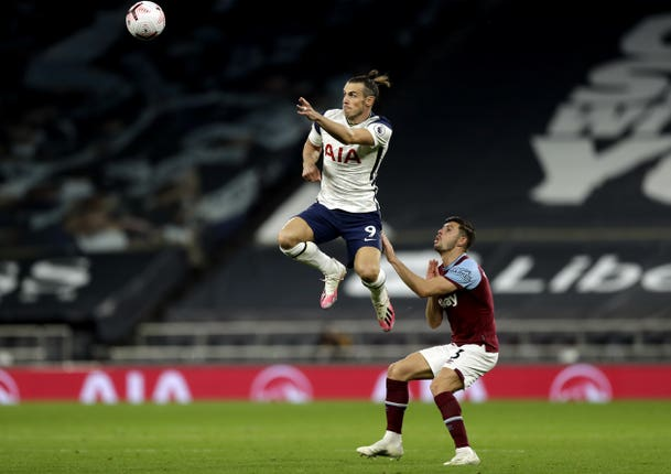 Gareth Bale played 28 minutes on his second Spurs debut