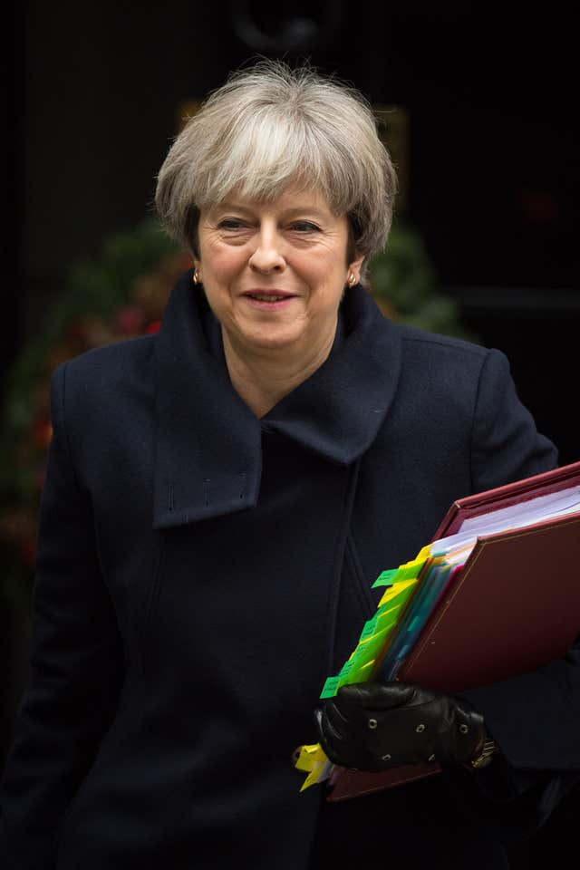 Downing Street has signalled that Prime Minister Theresa May could take action against tech firms (Dominic Lipinski/PA)