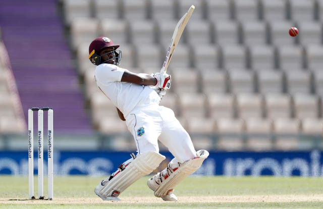 Jermaine Blackwood guided West Indies to victory