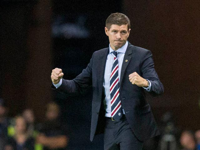 Victory for Rangers on Saturday will propel Steven Gerrard's side firmly into the title race