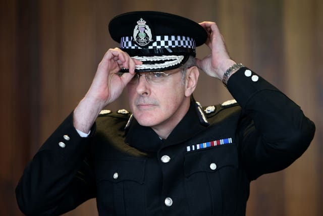 Chief constable Phil Gormley is being investigated over misconduct allegations
