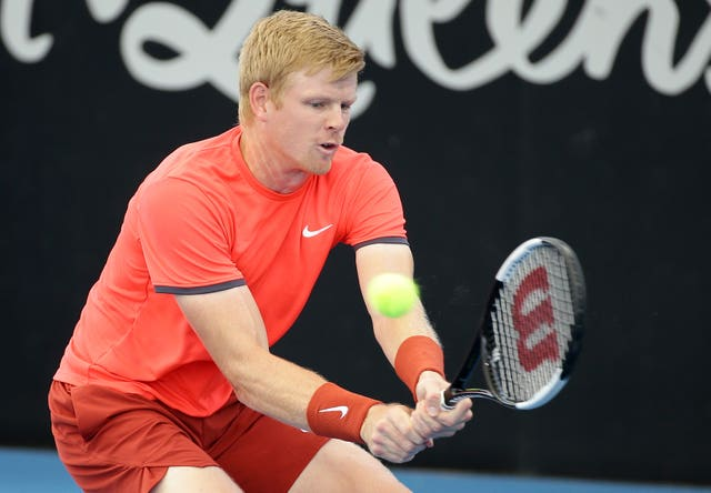 Kyle Edmund lost to Yasutaka Uchiyama in his first match of the season in Brisbane