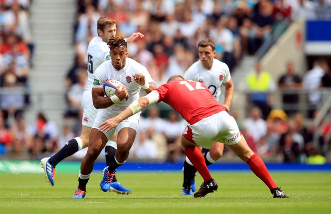 Anthony Watson, left, could profit from Ruaridh McConnochie's injury
