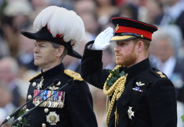 The Duke of Sussex during Founder's Day celebrations at the Royal Hospital Chelsea in west London