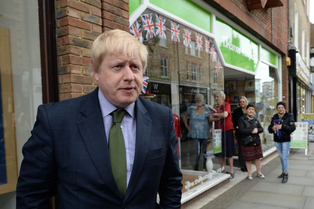 Boris John visits Uxbridge library.