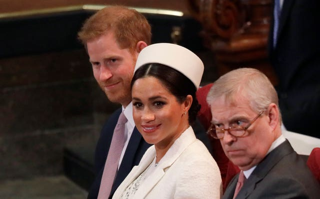 Harry, Meghan and Andrew