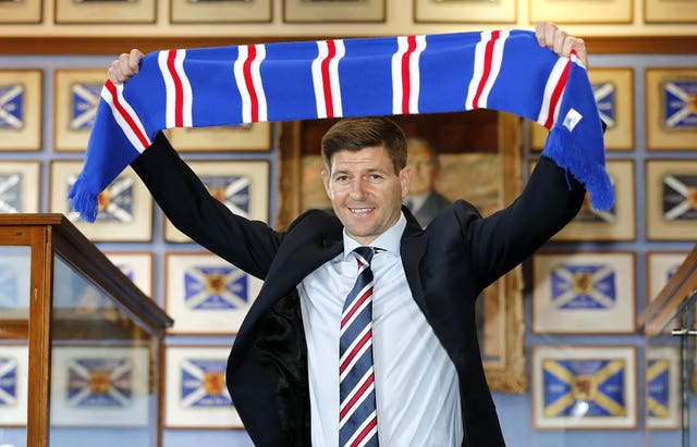 Rangers Press Conference – Ibrox Stadium