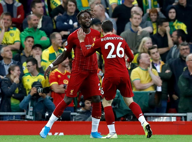 Liverpool v Norwich City – Premier League – Anfield