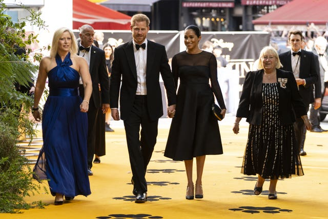 European Premiere of The Lion King – London