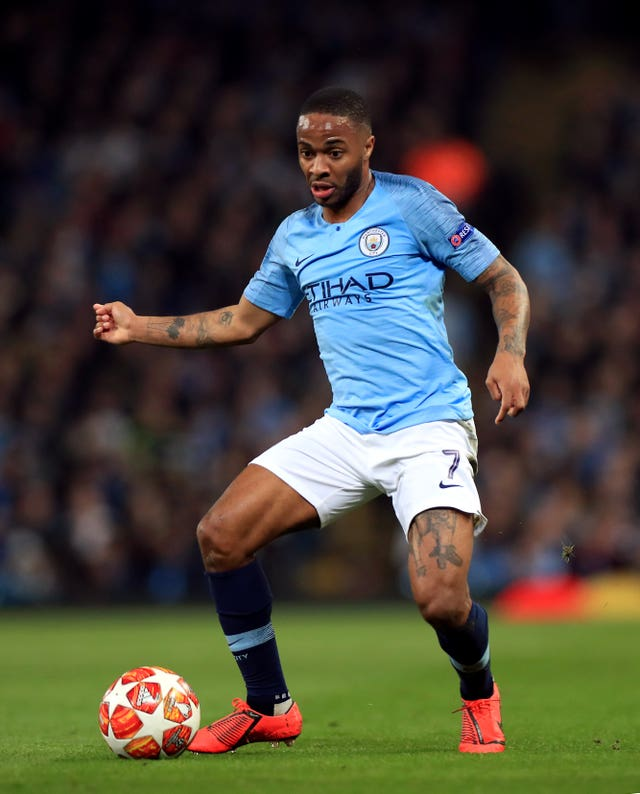 Raheem Sterling joined City in a big-money move