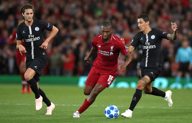 Liverpool's Daniel Sturridge showed he had lost none of his goalscoring sharpness against Paris St Germain.