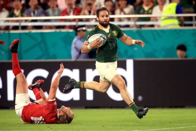 South Africa v Canada – Pool B – 2019 Rugby World Cup – Kobe Misaki Stadium