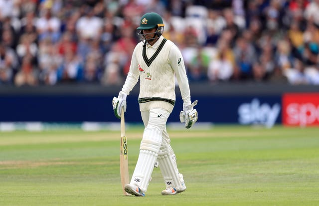 Usman Khawaja is without a half-century in six innings in this series (Mike Egerton/PA)