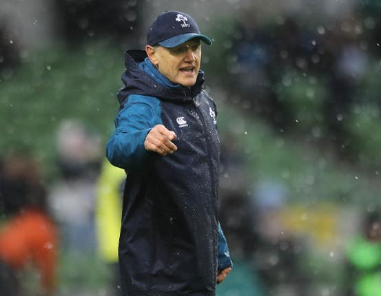 Ireland head coach Joe Schmidt is expected to return in time for the Italy match