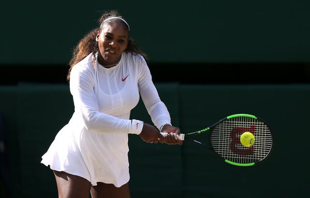 Serena Williams has been full of praise regarding England Women