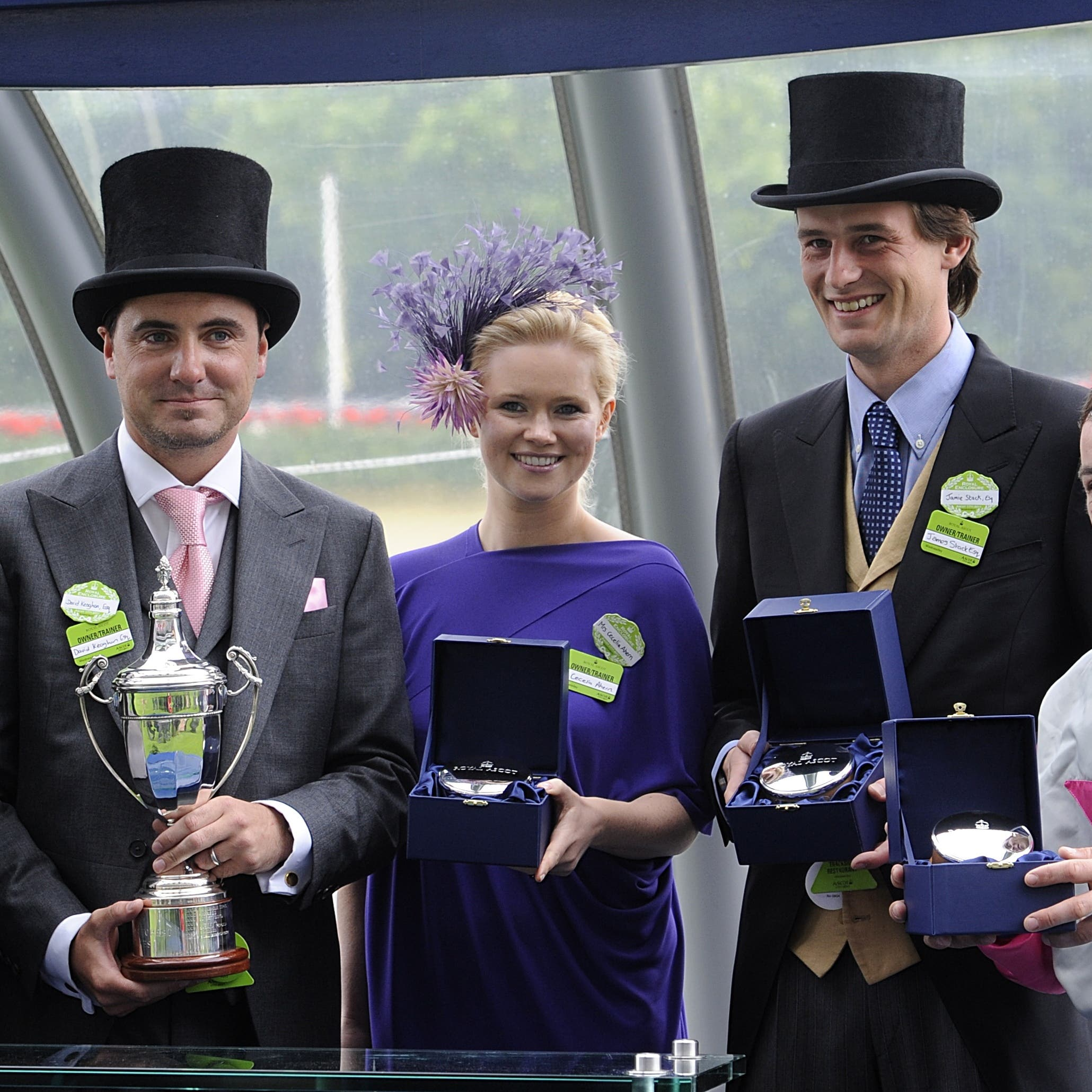 Fozzy Stack (second right) at Royal Ascot