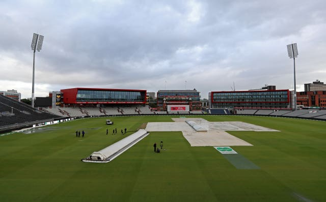 There is a possibility of more rain on day three