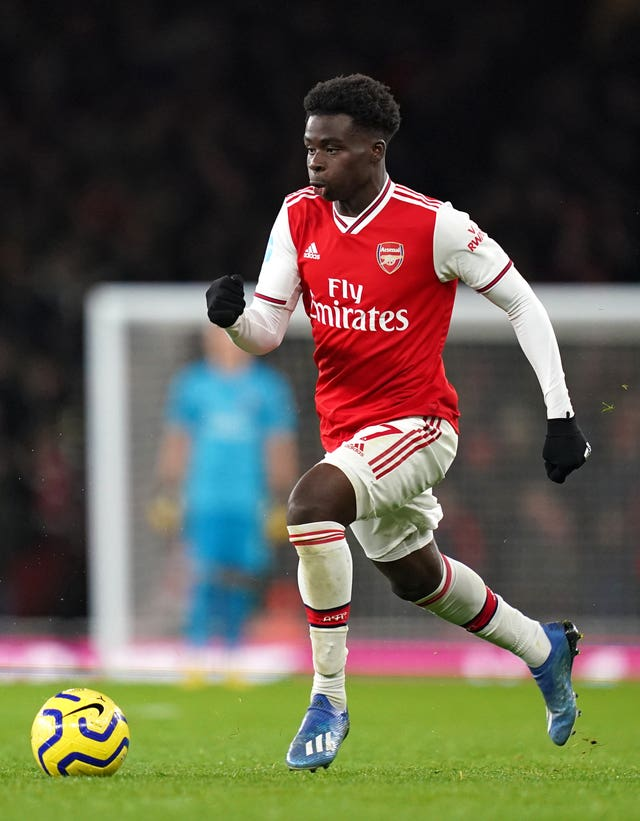 Bukayo Saka has impressed Martin Keown