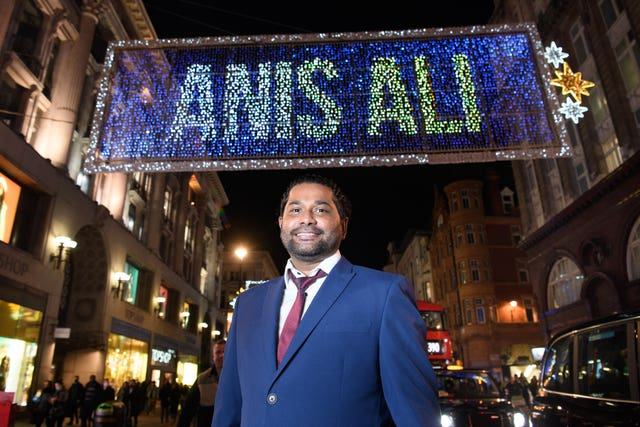 Anis Ali on Oxford Street