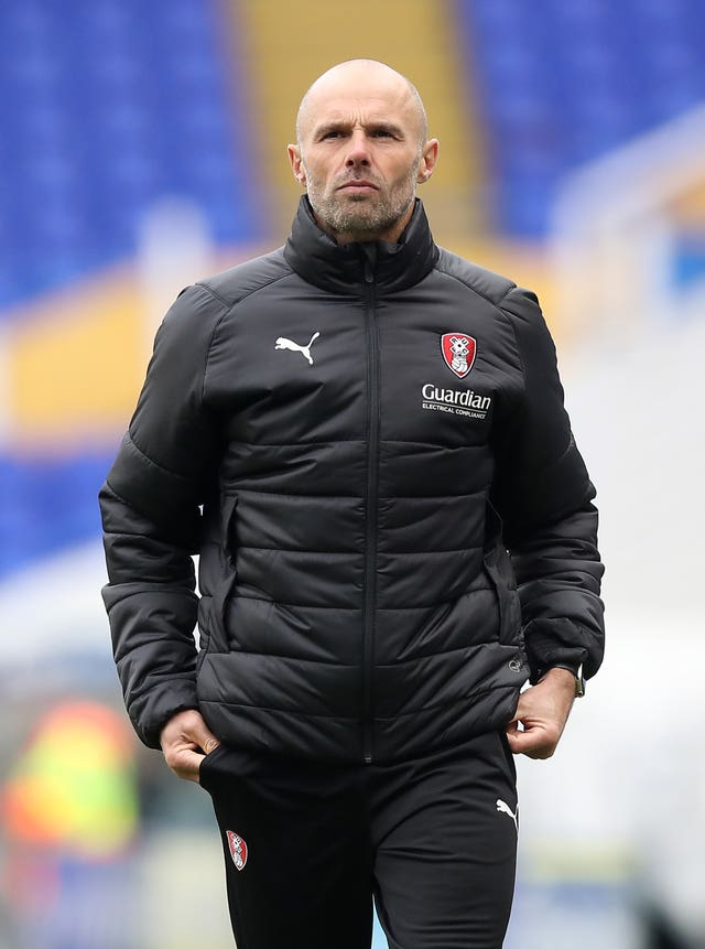 Rotherham manager Paul Warne is self-isolating