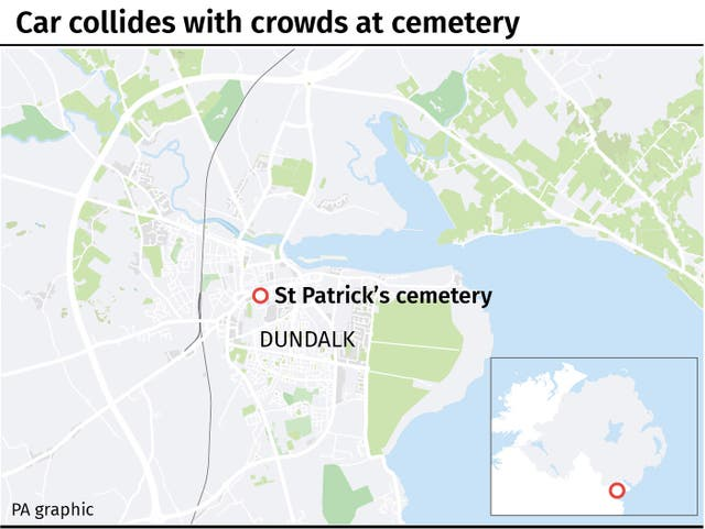 Dundalk map