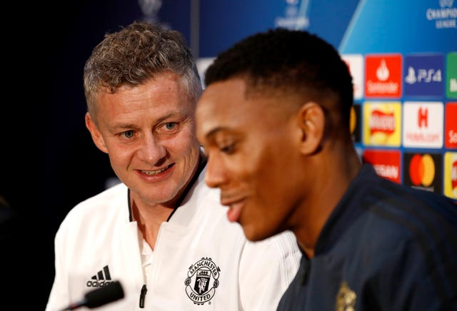 Martial is enjoying his football under Ole Gunnar Solskjaer