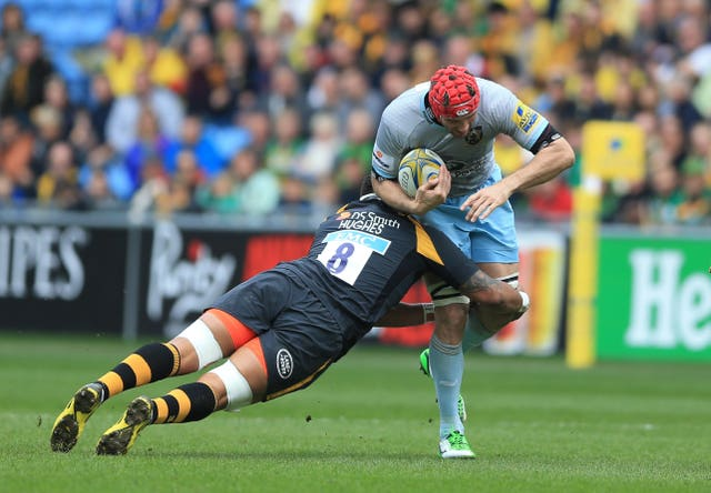 Christian Day, right, is a former Northampton lock (Nigel French/PA)