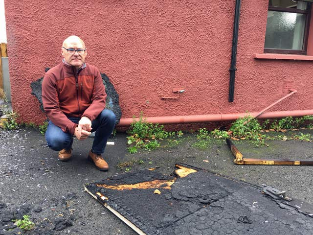 Attack on Sinn Fein Belfast headquarters