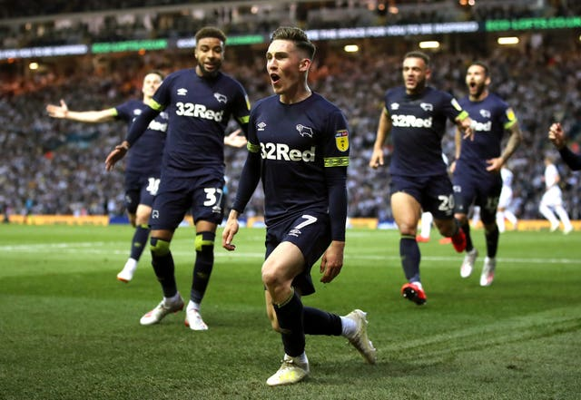 Leeds United v Derby County – Sky Bet Championship Play-off – Semi Final – Second Leg – Elland Road