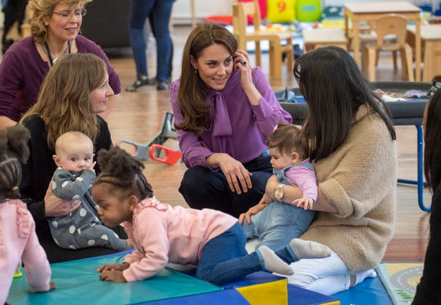 Royal visit to Henry Fawcett Children's Centre