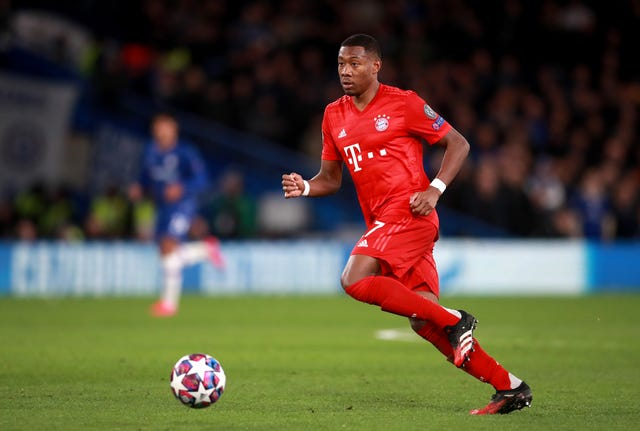 Bayern Munich's David Alaba is wanted by Manchester United