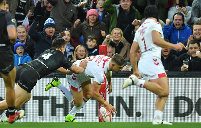 Tom Makinson was man of the match at Anfield