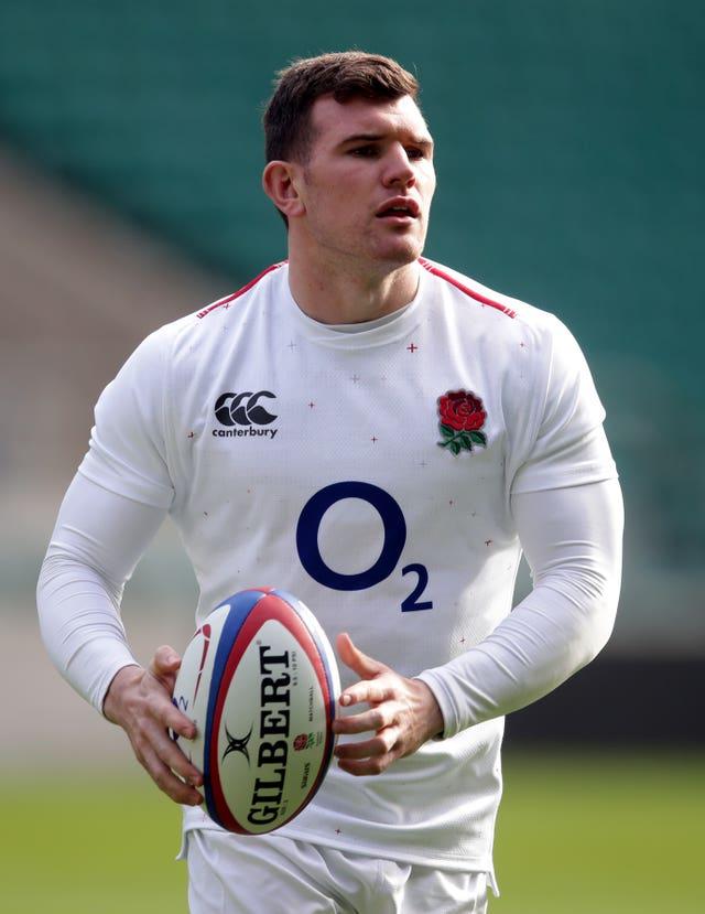 England's Ben Spencer