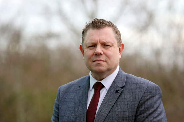 Police Federation chairman John Apter