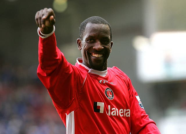 Chris Powell in action for Charlton