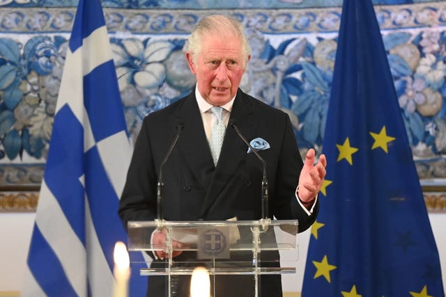 Royal visit to Greece – Day 1