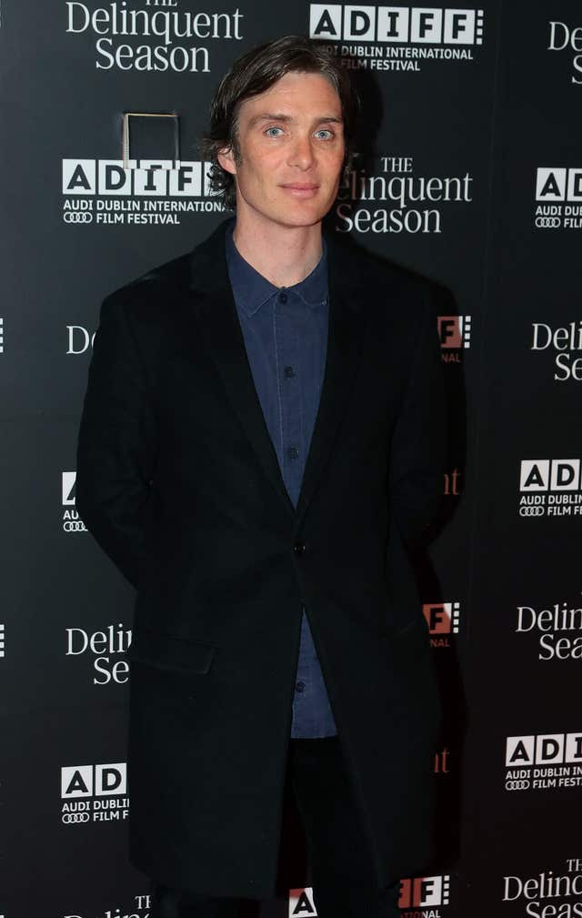 Cillian Murphy at a premiere