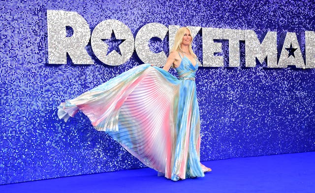 Claudia Schiffer at the Rocketman UK Premiere – London