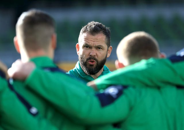Ireland head coach Andy Farrell has begun his reign with successive wins over Scotland and Wales